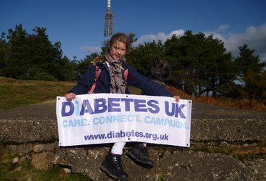 'I reached the summit for Diabetes UK'