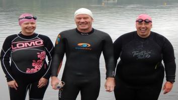 Snowdonia swimmers