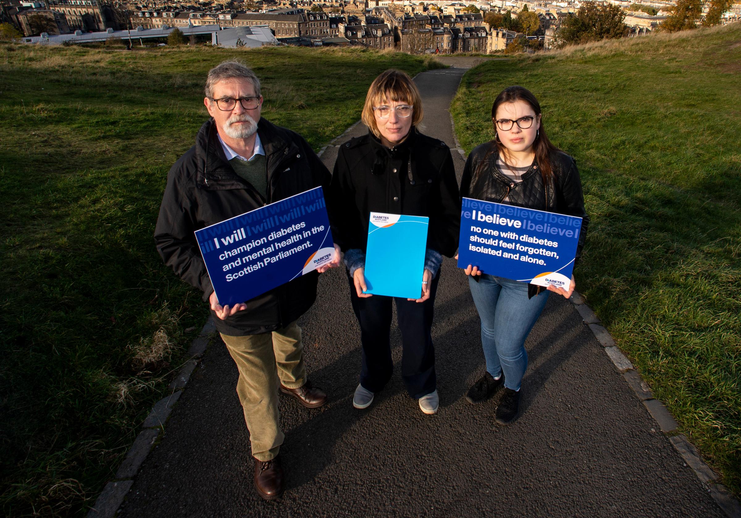 Diabetes Scotland It's Missing campaign action