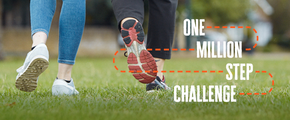 One Million Step Challenge banner