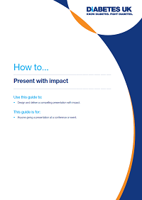 How to present with impact