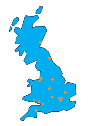 UK-wide network of research centres
