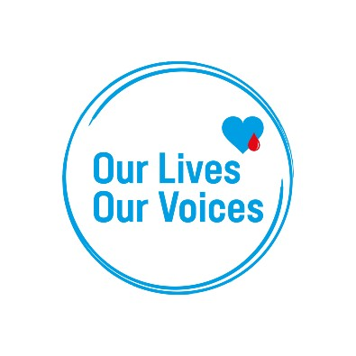 Our Lives, Our Voices logo