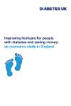 Footcare economic study cover