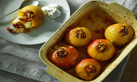 Stuffed Baked Apples Diabetes Uk