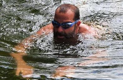 Mark open water swimming