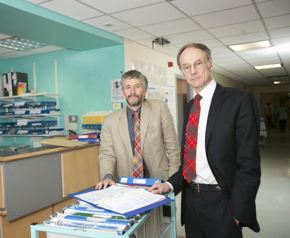Mike Lean and Roy Taylor who led on the DiRECT trial