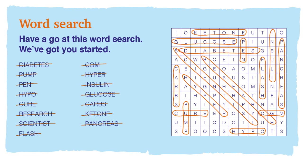 Wordsearch answers