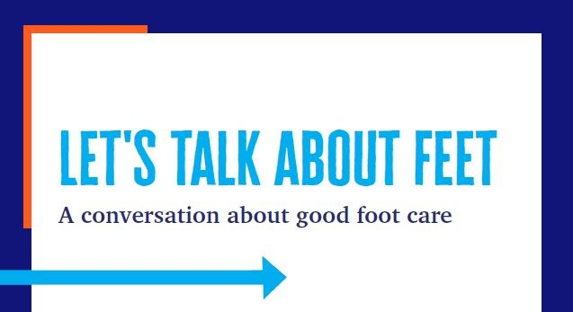 Let's Talk About Feet will take place on October 20