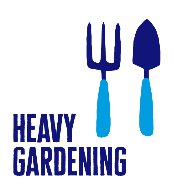 An icon of heavy gardening to show how to get active