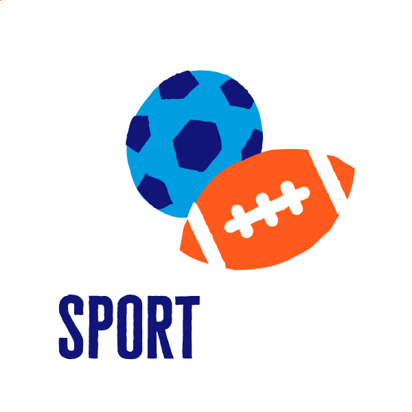 An icon of team sports to show how to get active