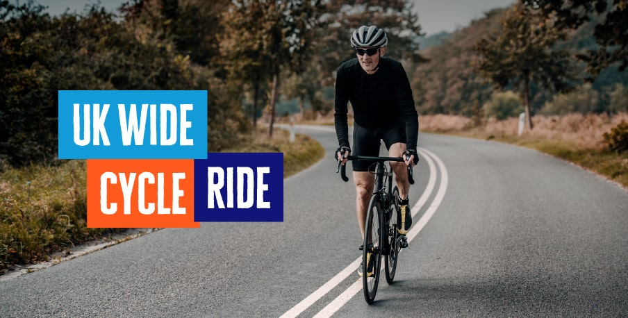 Take part in Diabetes UK's UK Wide Cycle Ride this April, and ride across the UK, whenever and however you can.