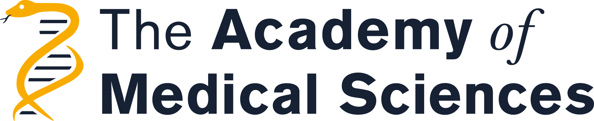 the logo for the academy of medical sciences