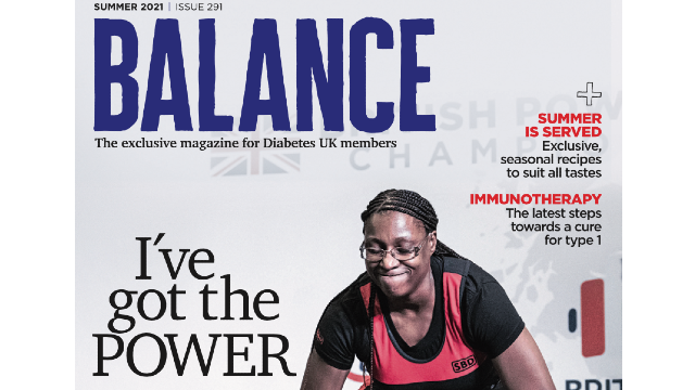 Cover of Balance summer 21 edition