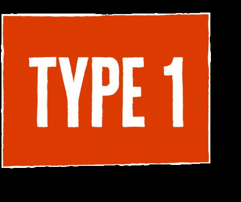 type one icon