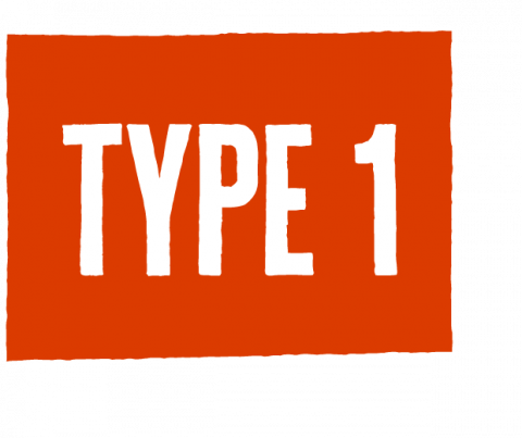 type one icon