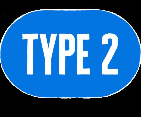 type two icon