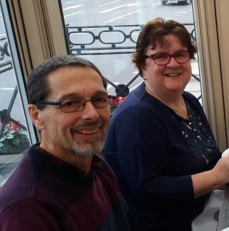 London volunteers Neil and Janet Walden