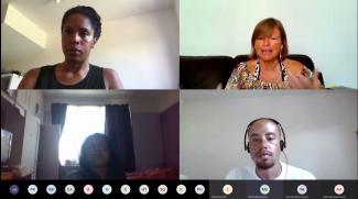 Screenshot of Teams awareness talk