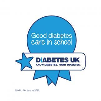 Good Care in Schools Award logo, colour, JPEG, valid until September 2022