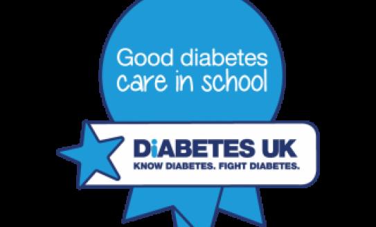 Good Care in Schools Award logo