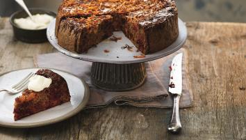 Beetroot and carrot cake
