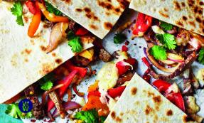 Steak & pepper quesadillas