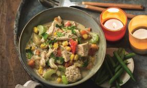 turkey and corn chowder