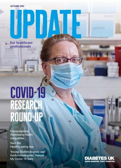 The front cover of the autumn 2020 issue of Update magazine