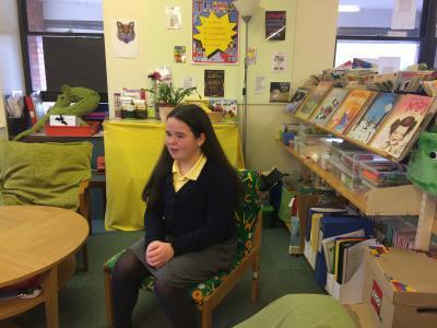 Tamara Jones at Melin Primary last year