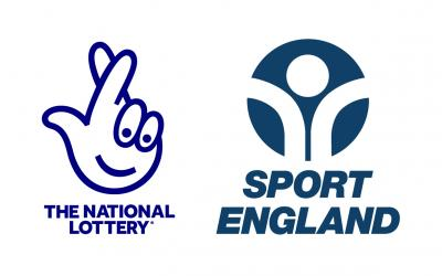 Sport England and The National Lottery logos
