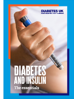 the front cover of the diabetes and insulin the essentials guide