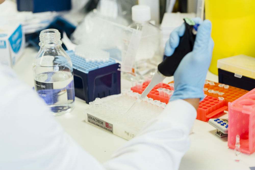 Research in the lab is helping to develop new treatments