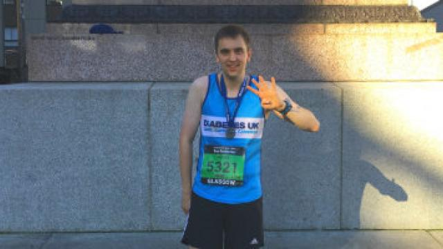 4 half marathons for FAB