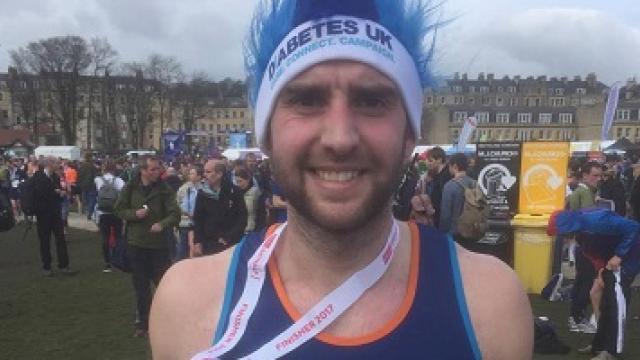 A Diabetes UK fundraiser smiling