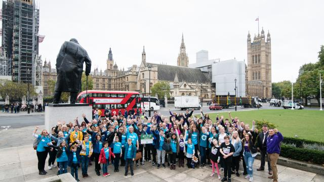 Lobbying for change in Parliament
