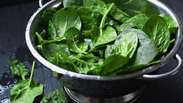 What's in season: Spinach