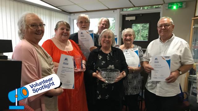 Volunteer Spotlight - July 2019