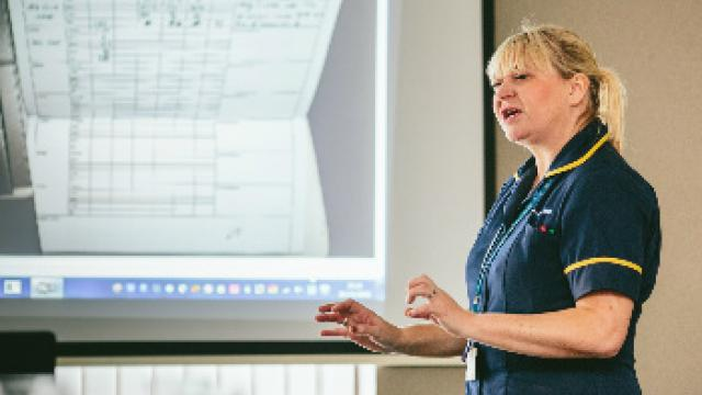 Professional development courses to improve diabetes care for patients.