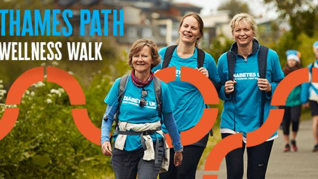 Thames Path Wellness Walk - mental wellbeing