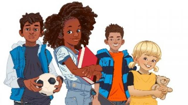 Illustration of the My Life characters