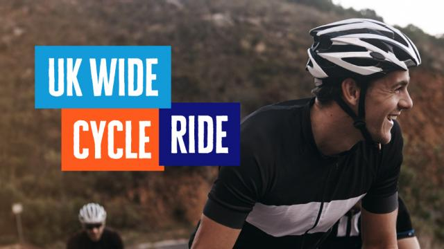 Register for UK Wide Cycle Ride 2021