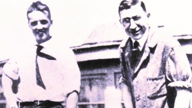 Frederick G Banting with John Macleod