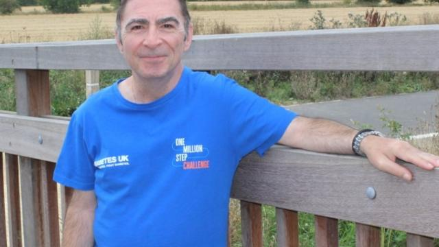A supporter of Diabetes UK