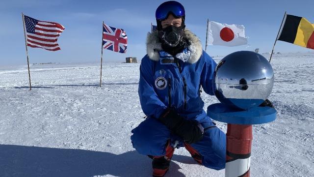 Neil Hunter at South Pole