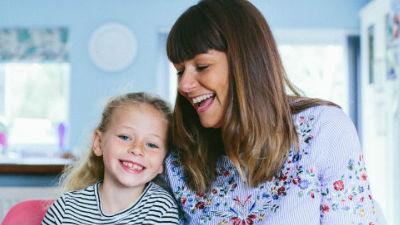 Harriet with mum Hannah