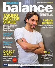Diabetes Balance magazine cover image