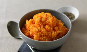 Carrot and swede mash