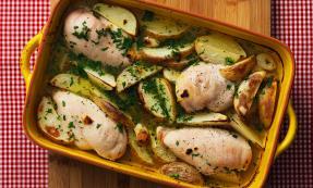 Greek homestyle chicken