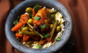 Moroccan-style chicken